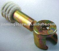 combined dowel screw