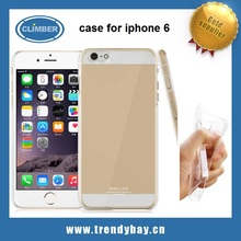 mobile phone bag transparent for iphone 6 case cover