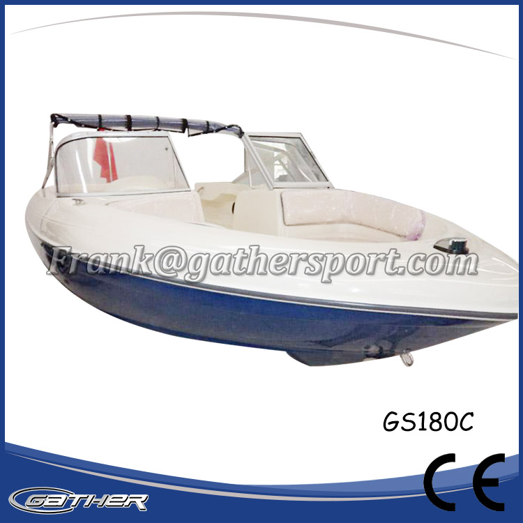 GATHER 5.5M FIBERGLASS SPORT BOAT GS180C-002