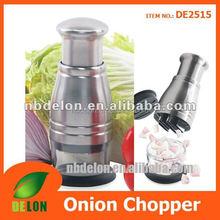 Stainless steel manual food chopper