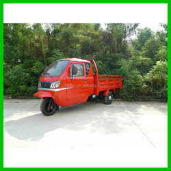 Car Seats Mini Dump Truck Cargo Motor Tricycle with Reverse Image System