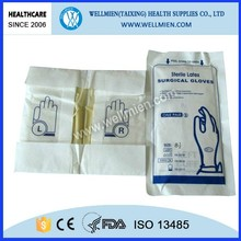 Cheap Sterile Surgical Disposable Latex Gloves