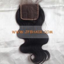fashion black women top closure hair product, Wholesale virgin malaysian hair lace closure
