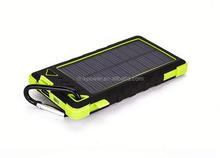 wholesale 8000mah universal solar mobile phone charger