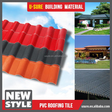 New Products of Spanish Style ASA pvc roofing material