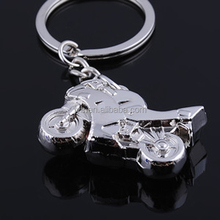 Good quality motorcycle reflective cute keychain