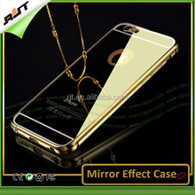 Luxury newest mirror effect phone case for iPhone 6/6plus with bumper,case for phone