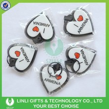 2015 New Oem Products 3D Soft Pvc Keychain / Novetly Pvc Keychain Manufacturer