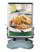High Quality Plastic Waterbase Aluminum Frame 60*85CM U Style Sing Board with Outdoor Advertising Display