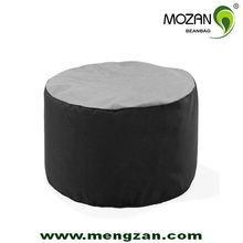 large size acrylic or polyester fabric indoor sitting bench bean bag