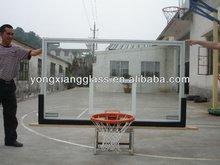 High Quality Tempered glass basketball backboard