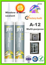 aluminum color silicone sealant/glass & metal silicone sealant