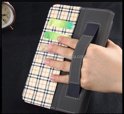 Leather Blet Clip Flip Stand Case With Wallet for Apple iPad Mini