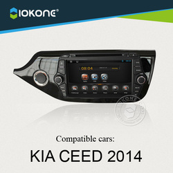 8inch newest multimedia 2 din android car dvd radio for KIA Ceed 2014