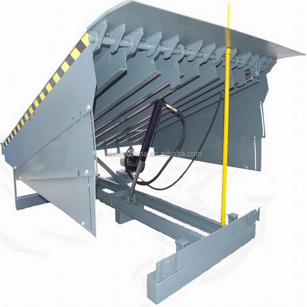 Hydraulic Dock Plate Parts : Hydraulic stable operating dock leveler customized color