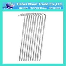 hot selling galvanized steel tent pegs