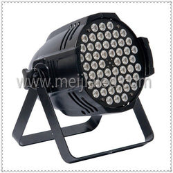 China manufacture 54 x 1w rgbw led light par