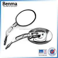 Long life durable stainless steel motorcycle/electric bike /street bike side mirror
