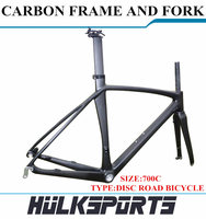 High Quality Cheap 700C DISC Carbon Road Bicycle Frame Carbon Road Bike Carbon Frame