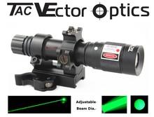 Vector Optics Magnus Green Laser Flashlight Green Laser Designator w/ Adjustable Beam Focus Night Vision