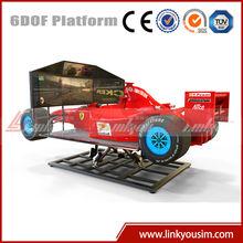 racing go karts indoor f1 car simulator electric racing for kids playhouse