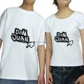 personnalisé imprimé couple amoureux t shirt concevoir votre propre t shirt en gros fabricant de la chine
