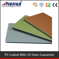 Alusign hot sale residential wall cladding PVDF fire resistant aluminum composite panel