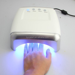 Free sample direct factory 60w ccfl led uv nail dryer with fan, 60w ccfl nail lamp