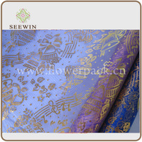 2014 beautiful organza fabric for christmas decoration