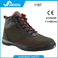 Stylist safety footwear italy composite plate safety toe work boots