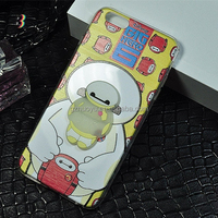 popular cartoon character silicone lighter phone case, glow in the dark silicone cell phone case
