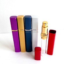8ml aluminum perfume bottle with pump spray bottle pens