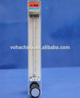 low cost glass gas rotameter