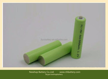 Hot sale nimh aa 1500mah rechargeable battery 1.2v for toys