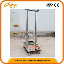 Automatic cement,sand,gypsum,lime mortar plastering machine for wall