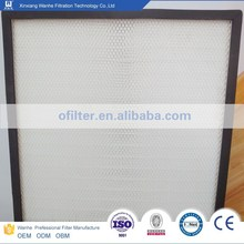 Aluminum alloy hepa filters fiber glass for power purification