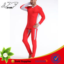 Men thermal pants and winter warm shirts whole set red thermal underwear