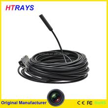 7mm 10M waterproof IP67 640x480 resolution security video camera usb endoscope camera