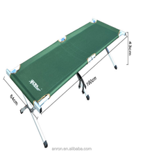 Lightweight portable camping aluminum outdoor camp bed folding bed office nap berth