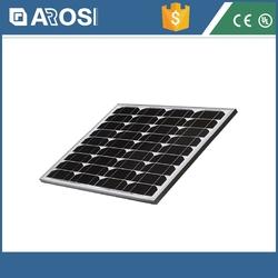 2015 Hot sales Arosi 40W-50W Polycrystalline Silicon solar panel / 12v 40w solar panel