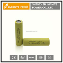 Wholesale original lg he4 18650 battery, lg he4 2500mah 30a discharge for factory price