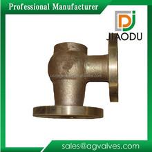 2015 classical sand casting brass valve body