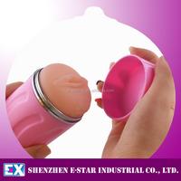 High Quality Rubber Artificial Vagina Plastic Vagina Cup for Male Masturbation