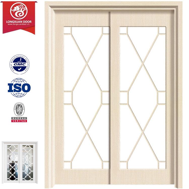 endless option sliding doors glass insert solid wood frame