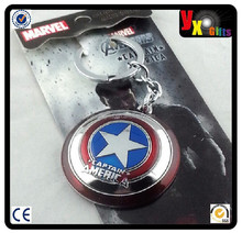 NEW Marvel Comics Captain America Shield Metal Keychain HOT Combine Shipping