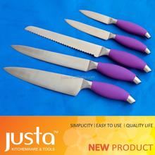 double steel head kitchen knife