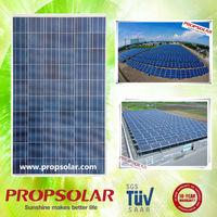 Propsolar polycystalline pvl solar laminate roofing solar rolls