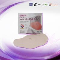 Korea top selling Mymi big slim patch/belly slim pad,mymi wonder patch factory price