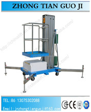 Excellent quality Ce/ISO 10m Electric Motor lift/aluminum alloy mast lift