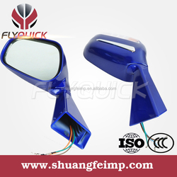 FLYQUICK motorcycle mirrors with turn signals,motorcycle motorbike racing bike side mirror turn signals for mirror for CF MOTO